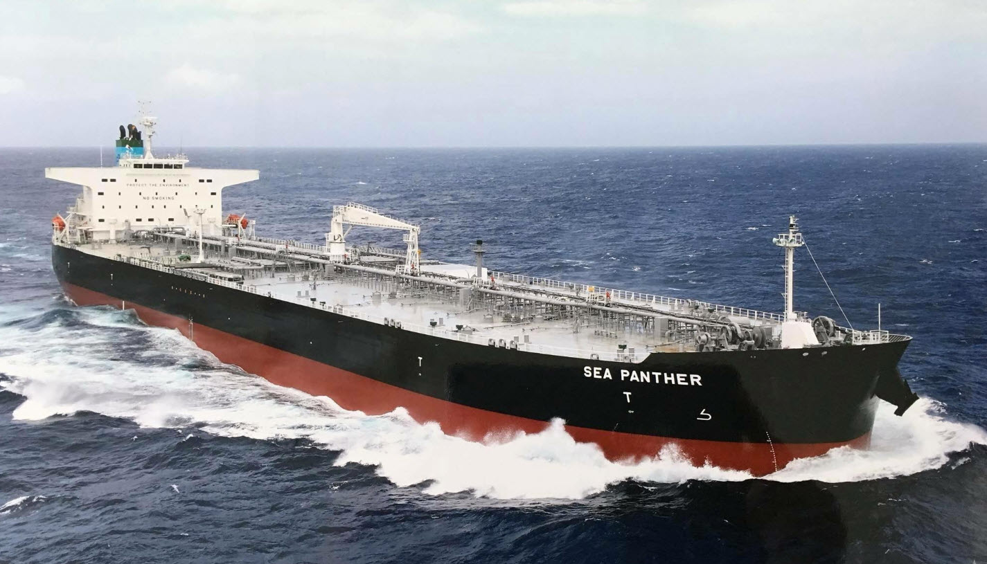 Sea Panther Delivery | PANTHEON TANKERS MANAGEMENT